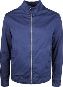 Niebieska kurtka Brooksfield w stylu casual