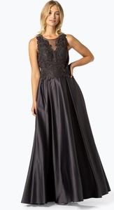 Czarna sukienka VM z okrągłym dekoltem bez rękawów