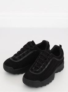 Buty sportowe Inello z tkaniny sznurowane w sportowym stylu