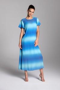Sukienka Tarionus S.c. z szyfonu trapezowa