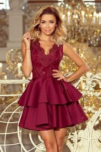 4dea7545be Sukienka NUMOCO bez rękawów rozkloszowana z dekoltem w kształcie litery v