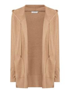 Brązowy sweter Calvin Klein z bawełny w stylu casual