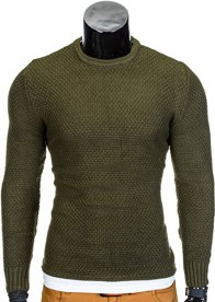 Zielony sweter ombre clothing
