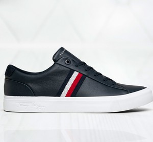 Tommy Hilfiger Tomy Hilfiger Corporate Leather Sneaker FM0FM03397DW5