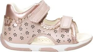 Buty dziecięce letnie Geox na rzepy dla dziewczynek