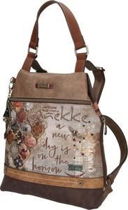 Brązowy plecak Anekke