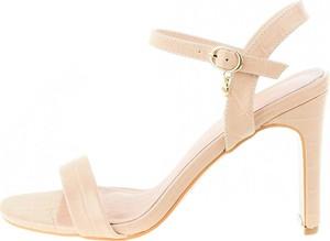 Sandały Prima Moda na obcasie na wysokim obcasie