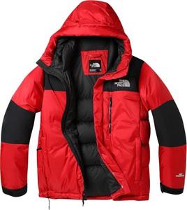 Czerwone kurtki męskie The North Face, kolekcja jesień 2019