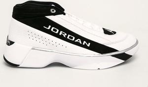Buty sportowe Jordan ze skóry sznurowane