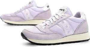 Buty sportowe Saucony z zamszu z płaską podeszwą
