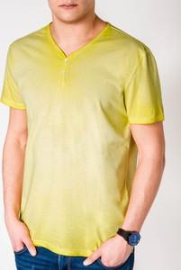 Żółty t-shirt Edoti