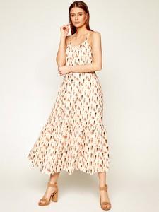 Sukienka Marella w stylu boho z dekoltem w kształcie litery v