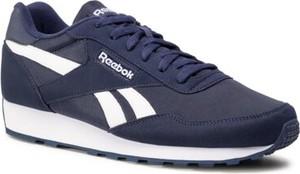 Granatowe buty sportowe Reebok sznurowane