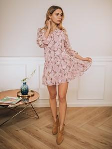 Różowa sukienka Promese mini