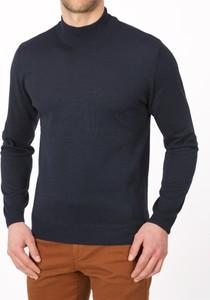 Sweter Lanieri z wełny w stylu casual