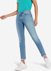 Niebieskie jeansy Wrangler z bawełny w stylu casual