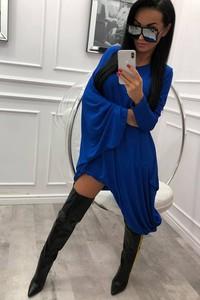 Sukienka fashion-freak.pl w stylu casual z długim rękawem