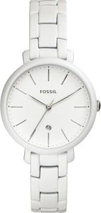 Zegarek FOSSIL - Jacqueline ES4397 White/White