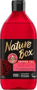 Nature Box, Shower Gel, żel pod prysznic, Pomegranate Oil, 385 ml