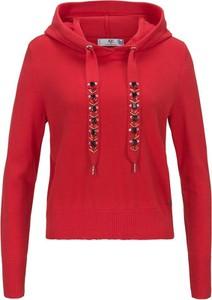 Czerwony sweter AJC krótka