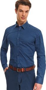 Koszula Top Secret z nadrukiem z bawełny