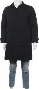 Czarny płaszcz męski Gap
