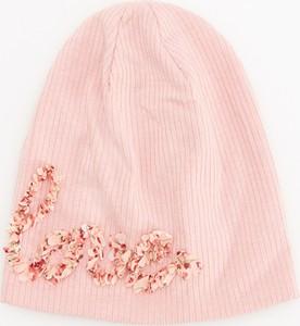 Różowa czapka Reserved dla dziewczynek