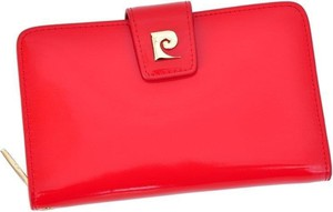 Czerwony portfel Pierre Cardin