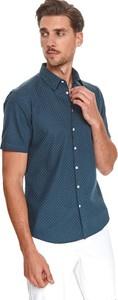Koszula Top Secret w stylu casual z krótkim rękawem