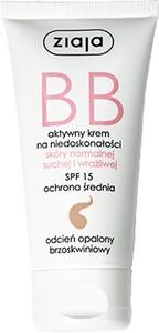 Ziaja krem BB do skóry normalnej, suchej i wrażliwej odcień opalony 50 ML