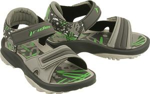 Zielone buty dziecięce letnie Rider