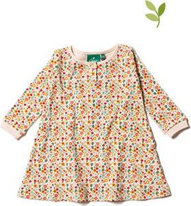 Sukienka dziewczęca Little Green Radicals z bawełny