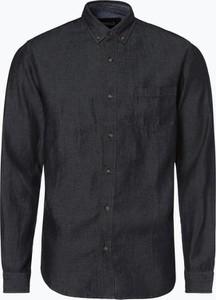 Granatowa koszula Aygill`s z długim rękawem