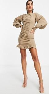 Sukienka I Saw It First z długim rękawem bodycon mini
