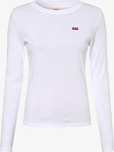 T-shirt Levis w stylu casual z długim rękawem z okrągłym dekoltem