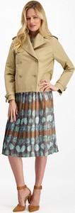 Kurtka Lavard krótka w stylu casual z bawełny
