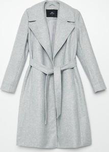 Płaszcz Cropp z wełny w stylu casual