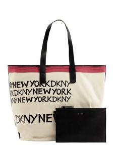 Torebka DKNY z bawełny duża