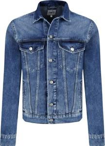Niebieska kurtka Pepe Jeans w młodzieżowym stylu