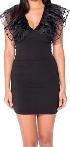 Czarna sukienka Parisian mini