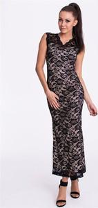 Czarna sukienka Emamoda bez rękawów