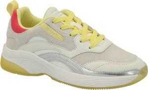 Buty sportowe Gant ze skóry w sportowym stylu sznurowane