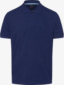 Niebieska koszulka polo Mc Earl z krótkim rękawem
