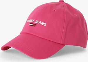 Różowa czapka Tommy Jeans