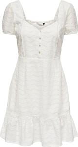 Sukienka Only mini z bawełny trapezowa