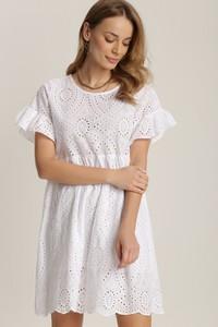 Sukienka Renee z okrągłym dekoltem oversize mini