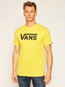 T-shirt Vans w młodzieżowym stylu z krótkim rękawem