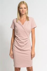b85d2a5018 różowa sukienka jakie dodatki - stylowo i modnie z Allani