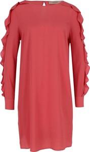 Sukienka Twinset z okrągłym dekoltem w stylu casual