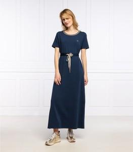 Sukienka Liu-Jo z krótkim rękawem maxi